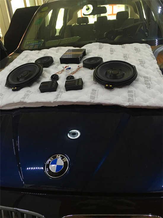 得三分频者的天下-宝马X1专车专用德国麦仕 全车大能隔音作业