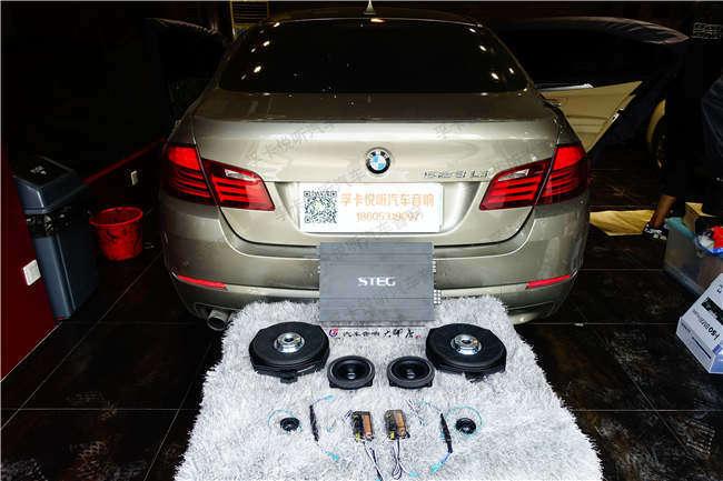 亚博体育app官方下载宝马BMW523Li亚博体育竞彩app下载专车专用无损yabo亚博体育苹果下载三分频德国艾索特|大能隔音打造完美箱体