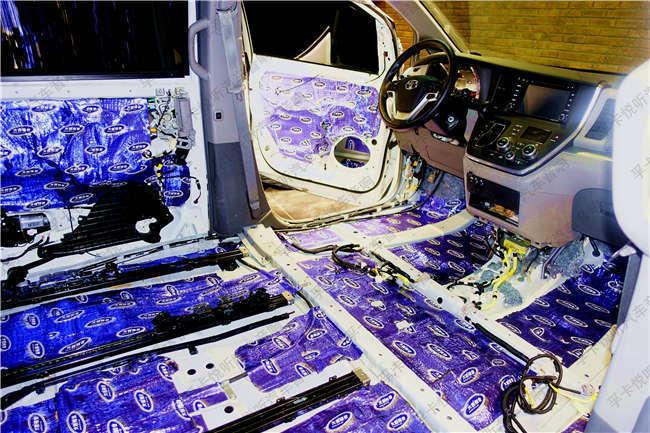 济南丰田塞纳汽车音响改装升级丹麦丹拿|全车大能隔音