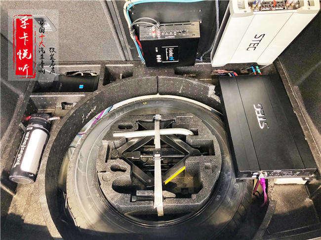济南大众高尔夫7汽车音响改装升级丹麦丹拿汽车喇叭 意大利史泰格k401