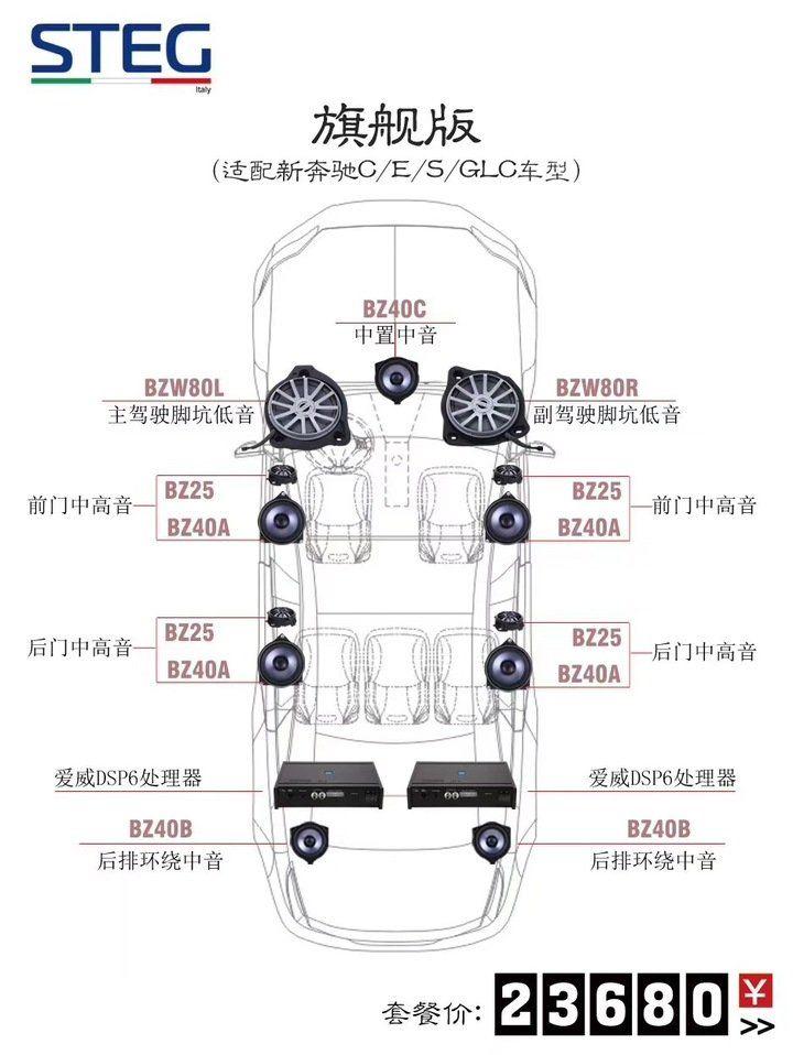 史泰格奔驰专车专用旗舰版套餐23680元