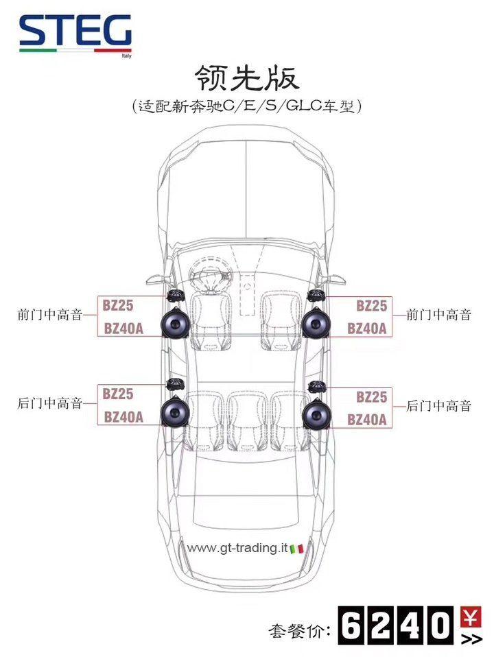 史泰格奔驰专车专用领先版套餐6240元
