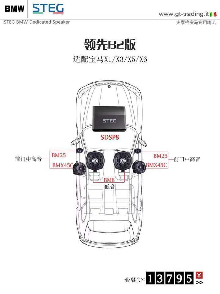史泰格宝马专车专用领先B2版套餐13795元