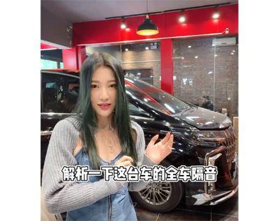 亚博体育app官方下载丰田埃尔法全车隔音